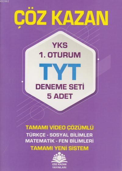 Çöz Kazan YKS TYT Deneme Seti 5li 1. Oturum