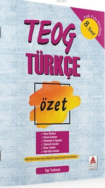 TEOG 8.Sınıf Türkçe Özet