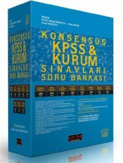 Konsensus KPSS ve Kurum Sınavları Hukuk Soru Bankası 2021