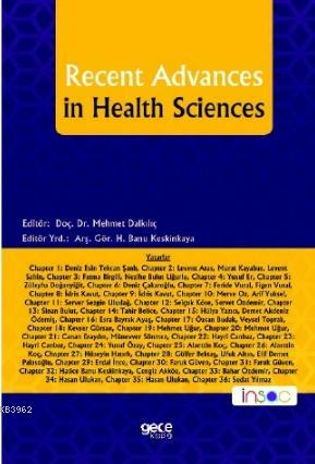 Recent Advances In Health Scıences