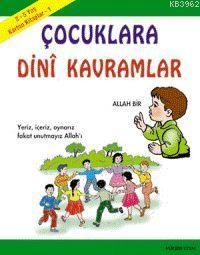 Karton Kitap-1-Çocuklara Dini Kavramlar; 2-5 Yaş