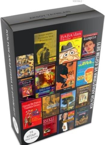 Kültür Araştırma Ve Eğitim Seti (15 Kitap)