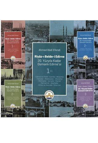 Riyaz-ı Belde - i Edirne- 5 Cilt Takım (Ciltli)