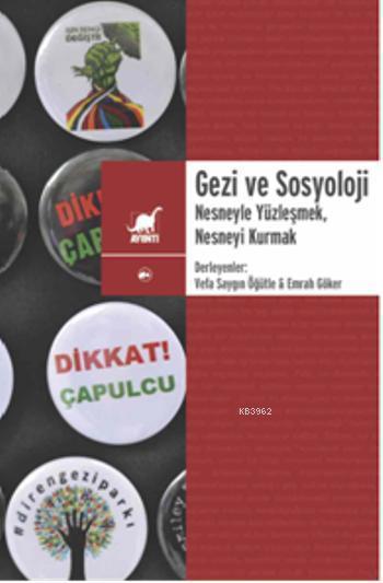 Gezi ve Sosyoloji; Nesneyle Yüzleşmek, Nesneyi Kurmak