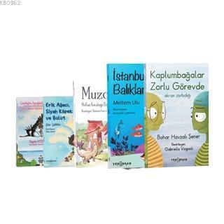 Dayanışmayı Öğreniyorum Seti (5 Kitap) Erik Ağacı, Siyah Köpek ve Bulut - Leyleğin Ayağındaki Dünya - Muzcu Kedi - Kaplumbağalar Zorlu Görevde - İstanbul'un Bal