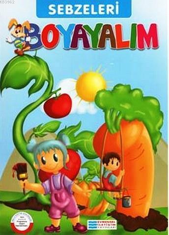 Sebzeleri Boyayalım; Mavi Seri