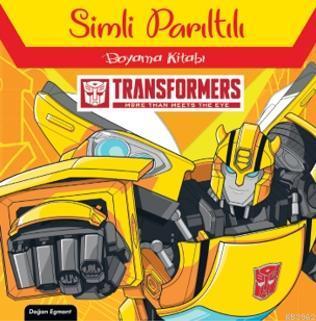 Transformers Simli Parıltılı Boyama Kitabı
