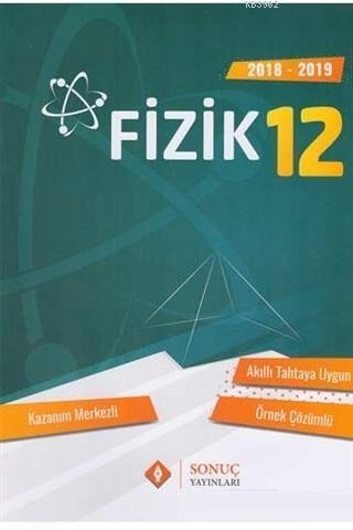 12. Sınıf Fizik Kazanım Merkezli Soru Bankası Seti Sonuç Yayınları