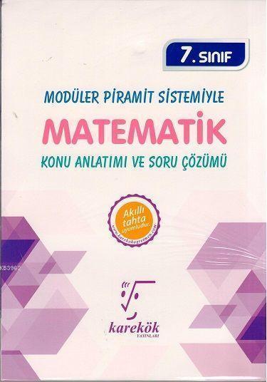 Karekök Yayınları 7. Sınıf Matematik Konu Anlatımı ve Soru Çözümü