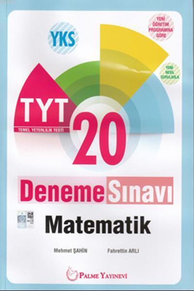Palme TYT Matematik 20 Deneme Yeni