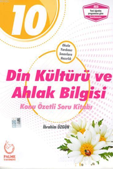 Palme Yayınları 10. Sınıf Din Kültürü ve Ahlak Bilgisi Konu Özetli Soru Bankası Palme