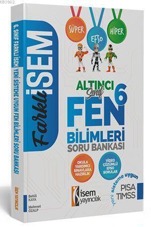 İsem Yayınları 6. Sınıf Fen Bilimleri Soru Bankası İsem