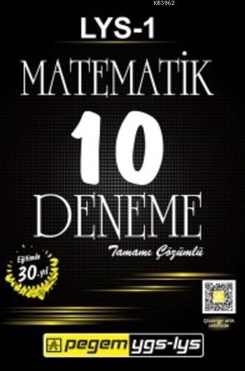 LYS 1 Matematik Tamamı Çözümlü 10 Deneme