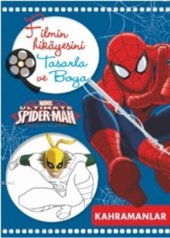 Marvel Ultimate Spider-Man Filmin Hikâyesini Tasarla ve Boya