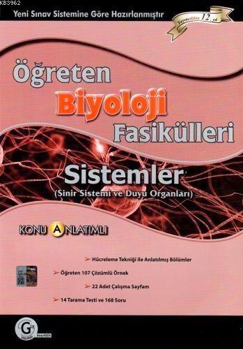 Öğreten Biyoloji Fasikülleri Konu Anlatımlı; Sistemler (Sinir Sistemi ve Duyu Organları)