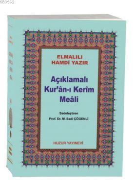 Açıklamalı Kur'an-ı Kerim Meali (Kod:044, Çanta Boy, Metinsiz)