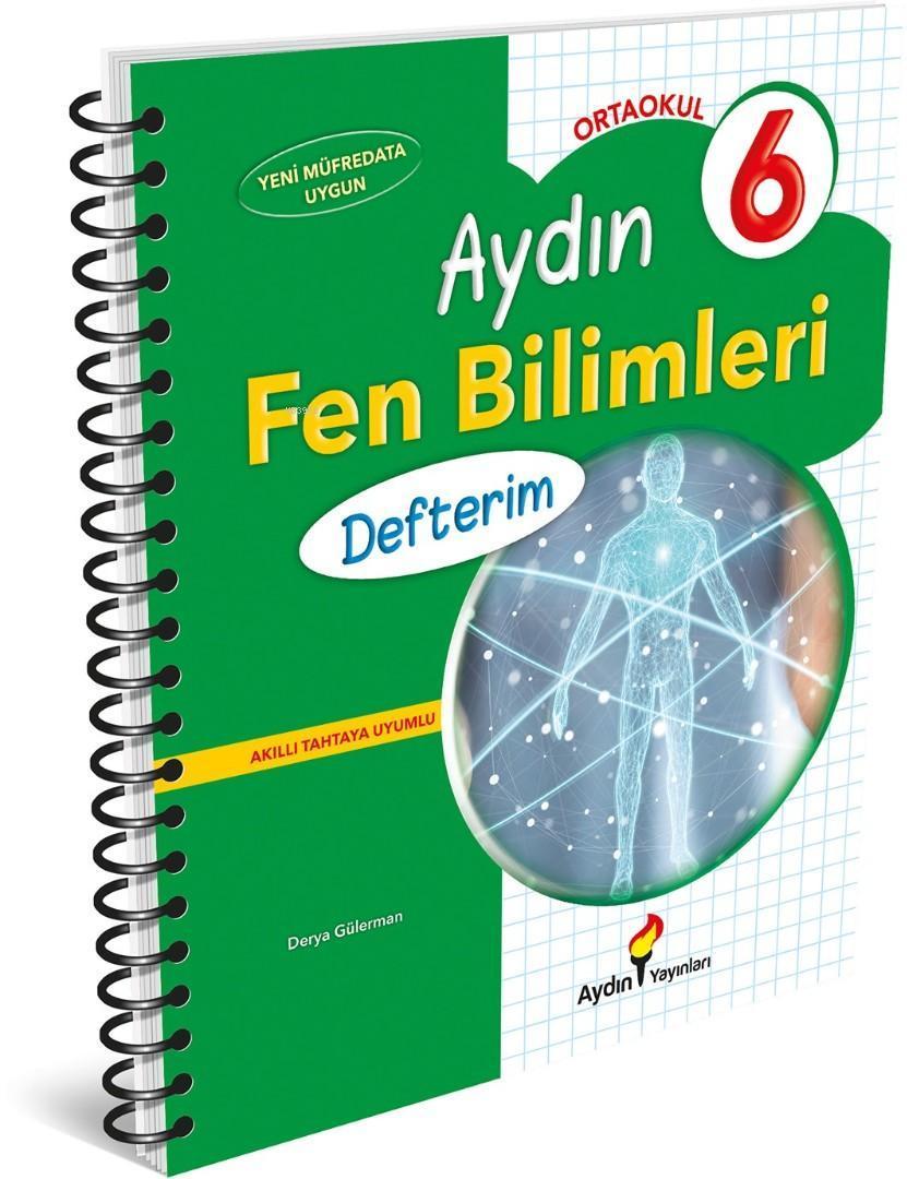 Aydın Yayınları 6. Sınıf Fen Bilimleri Defterim Aydın