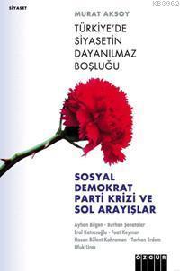 Türkiye´de Siyasetin Dayanılmaz Boşluğu; Sosyal Demokrat Parti Krizi ve Sol Arayışlar