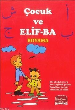 Çocuk ve Elif-Bâ Boyama Kitabı