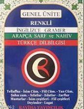İngilizce Gramer Arapça Sarf ve Nahiv Türkçe Dilbilgisi