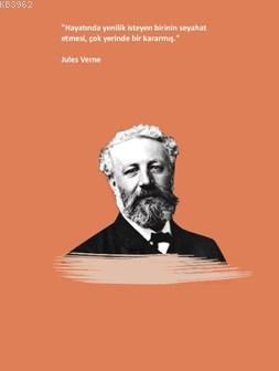 Jules Verne Ciltli Defter;