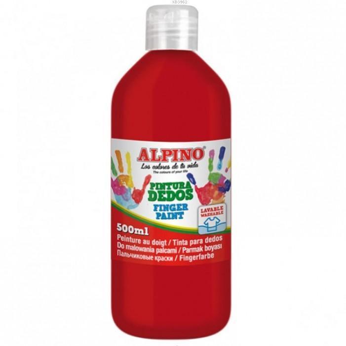 Alpino 500Gr.Parmak Boyası Kırmızı 11072