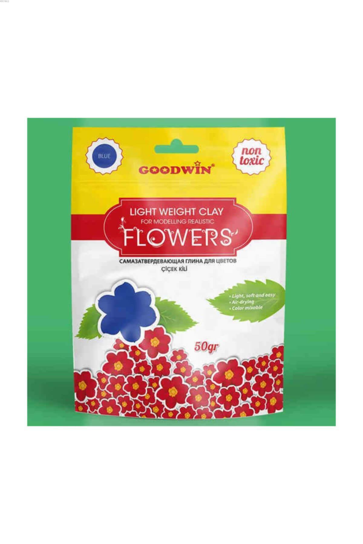 Goodwin Çiçek Kili 50Gr Mavi