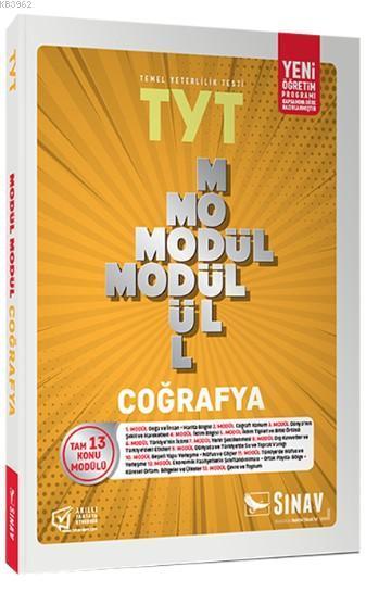 Sınav Dergisi Yayınları TYT Coğrafya Modül Modül Konu Anlatımlı Sınav Dergisi