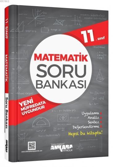 Ankara Yayınları Ankara 11. Sınıf Matematik Soru Bankası Ankara