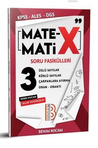 2020 KPSS ALES DGS TYT Matematix Soru Fasikülleri-3 Benim Hocam Yayınları