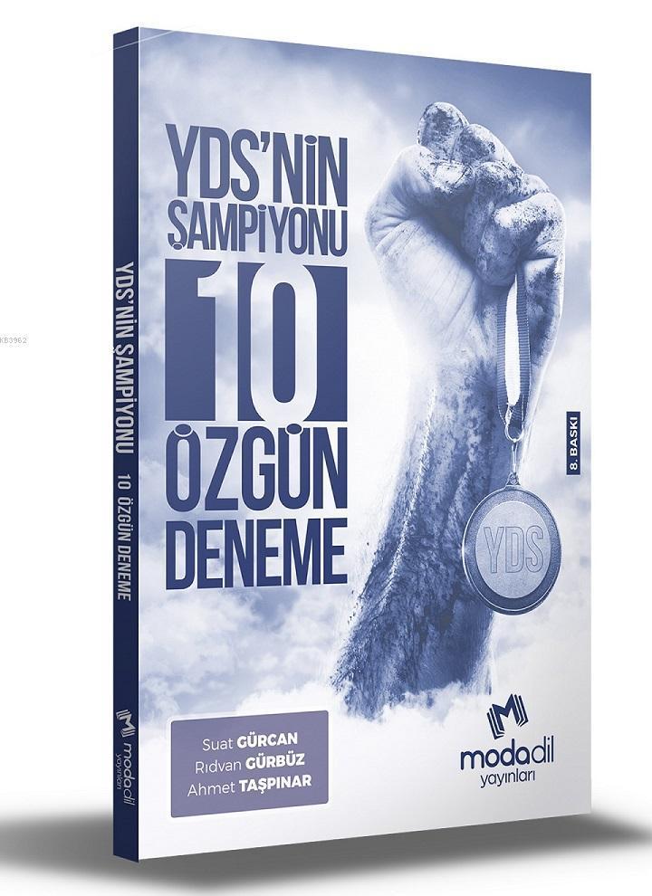 Modadil Yayınları - Yds Nin Şampiyonu 10 Özgün Deneme