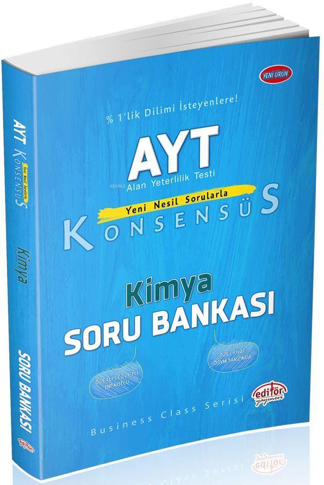 AYT Konsensüs Kimya Soru Bankası