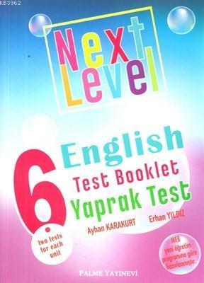 Palme Yayınları 6. Sınıf Next Level English Test Booklet Yaprak Test Palme