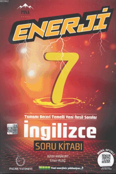 7.Sınıf Enerji İngilizce Soru Kitabı
