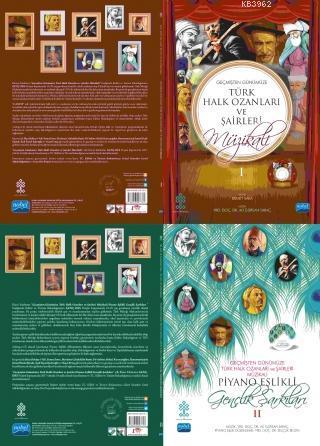 Geçmişten Günümüze Türk Halk Ozanları ve Şairleri Müzikali Piyano Eşlikli Gençlik Şarkıları - I-II (