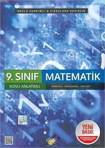 FDD Yayınları 9. Sınıf Matematik Konu Anlatımlı FDD