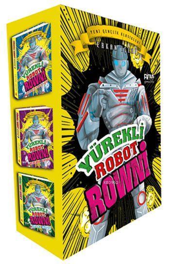 Yürekli Robot Rowni (3 Kitap - Kutulu)