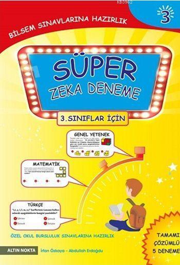 Süper Zeka Deneme - 3; (3. Sınıflar İçin)