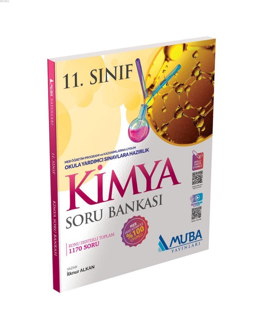 Muba Yayınları 11. Sınıf Kimya Soru Bankası Muba
