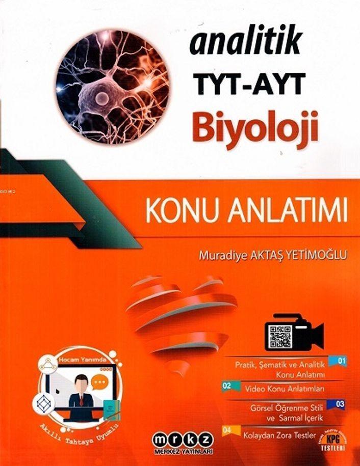 Merkez Yayınları TYT AYT Biyoloji Analitik Konu Anlatımı Merkez