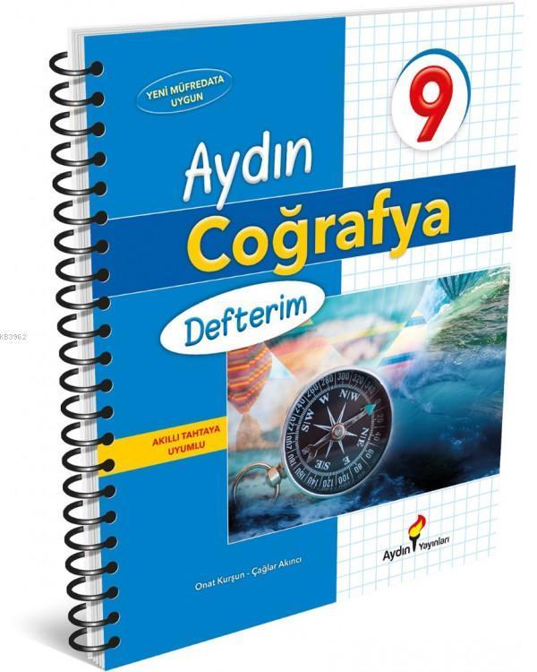 Aydın Yayınları 9. Sınıf Coğrafya Defterim Aydın