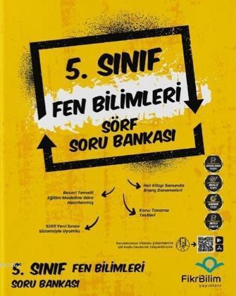 Fikri Bilim Yayınları 5.Sınıf Fen Bilimleri Soru Bankası