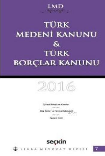 Türk Medeni Kanunu & Türk Borçlar Kanunu (Ciltli)