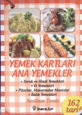 Yemek Kartları Ana Yemekleri
