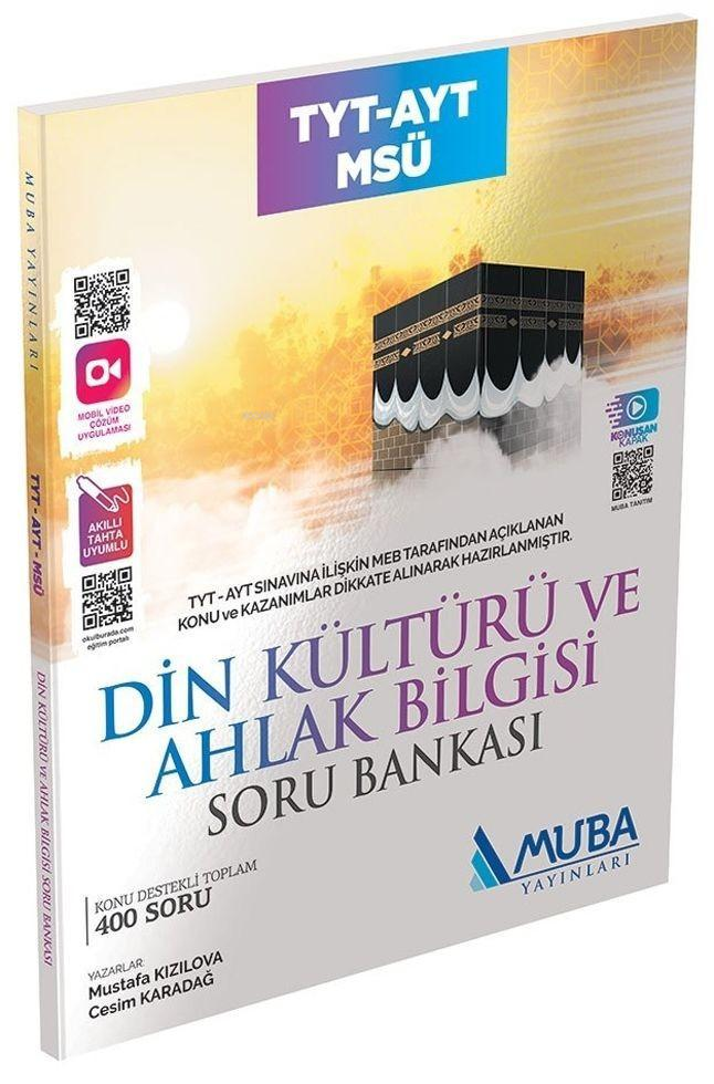 Muba Yayınları TYT AYT MSÜ Din Kültürü ve Ahlak Bilgisi Soru Bankası Muba