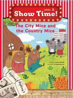 The City Mice and the Country Mice + Workbook + Multirom (Show Time Level 1)
