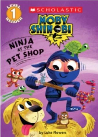 Ninja at the Pet Shop (Moby Shinobi Level 1