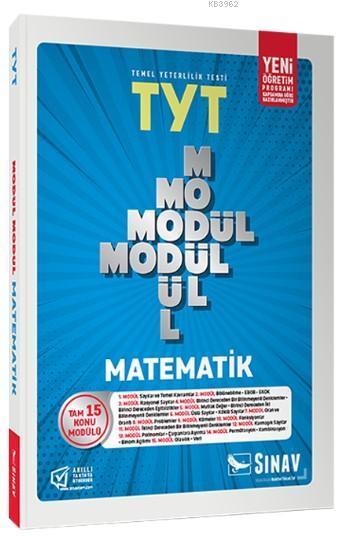 Sınav Dergisi Yayınları TYT Matematik Modül Modül Konu Anlatımlı Sınav Dergisi