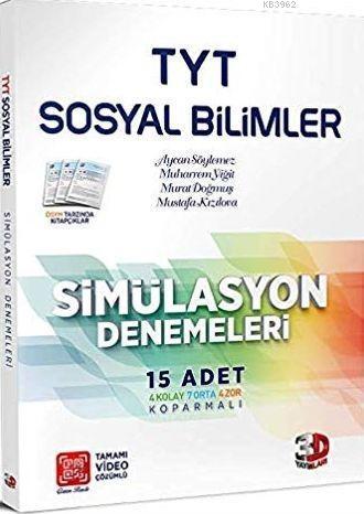 Çözüm Yayınları TYT Sosyal Bilimler Simülasyon Denemeleri Çözüm