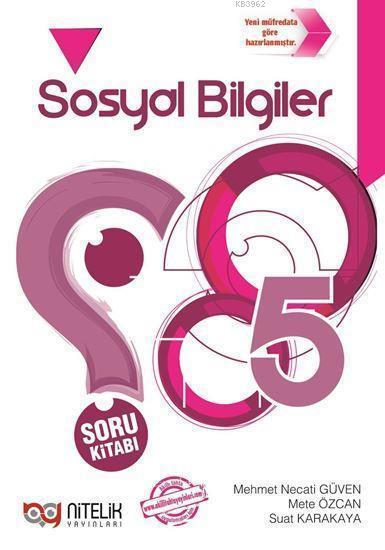 Nitelik Yayınları 5. Sınıf Sosyal Bilgiler Soru Kitabı Nitelik